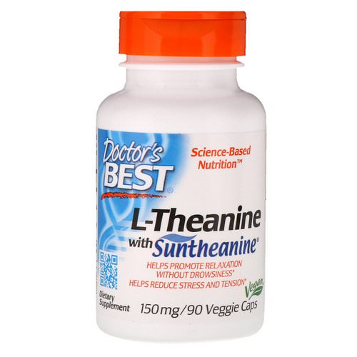 Doctor's Best, Suntheanine L-Theanine, 150 mg, 90 Veggie Caps Review