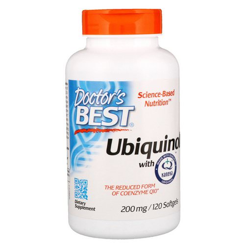 Doctor's Best, Ubiquinol with Kaneka, 200 mg, 120 Softgels Review