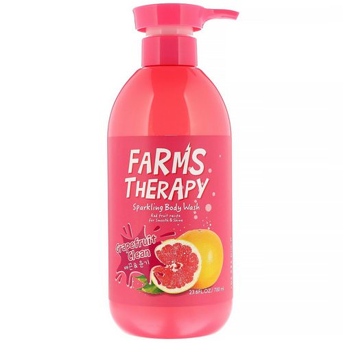 Doori Cosmetics, Farms Therapy, Sparkling Body Wash, Grapefruit Clean, 23.6 fl oz (700 ml) Review