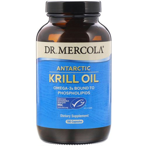 Dr. Mercola, Antarctic Krill Oil, 180 Capsules Review