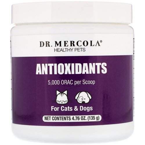 Dr. Mercola, Antioxidants, For Cats & Dogs, 4.76 oz (135 g) Review