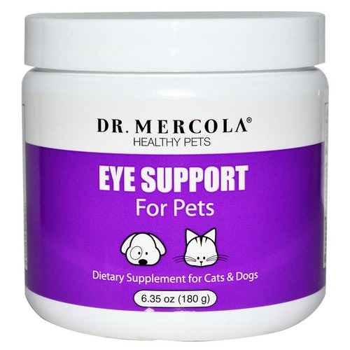 Dr. Mercola, Eye Support For Pets, 6.35 oz (180 g) Review