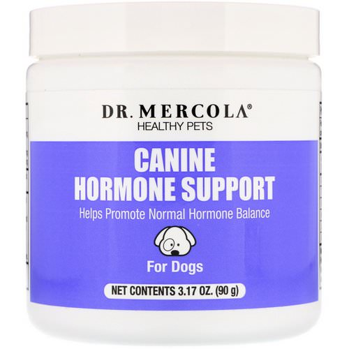 Dr. Mercola, Healthy Pets, Canine Hormone Support, For Dogs, 3.17 oz (90 g) Review