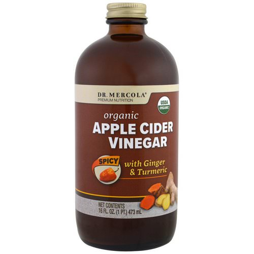 Dr. Mercola, Organic Apple Cider Vinegar, Spicy, 16 oz (473 ml) Review