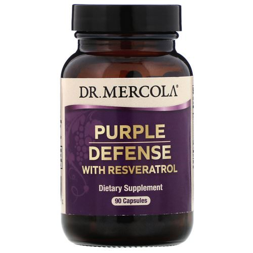 Dr. Mercola, Purple Defense with Resveratrol, 90 Capsules Review