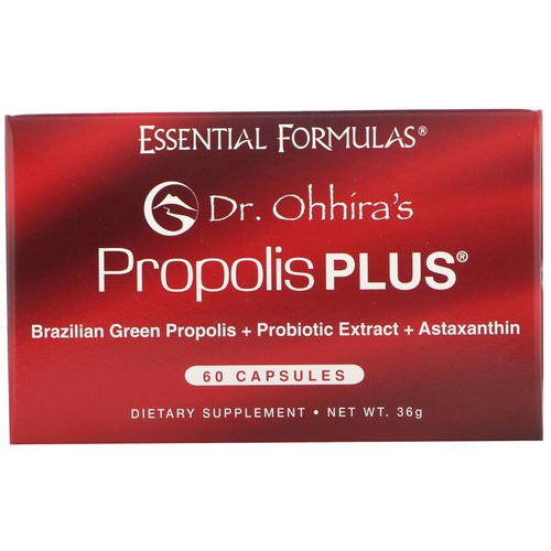 Dr. Ohhira's, Propolis Plus, 60 Capsules Review