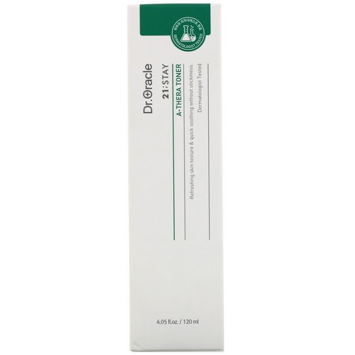 Dr. Oracle, 21;Stay, A-Thera Toner, 4.05 fl oz (120 ml) Review