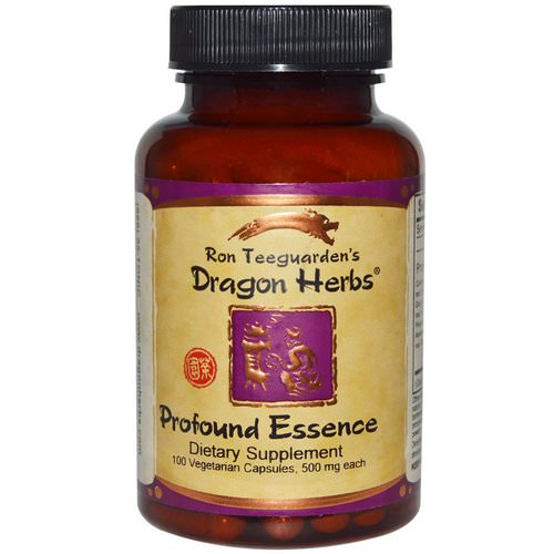 Dragon Herbs, Profound Essence, 500 mg, 100 Veggie Caps Review