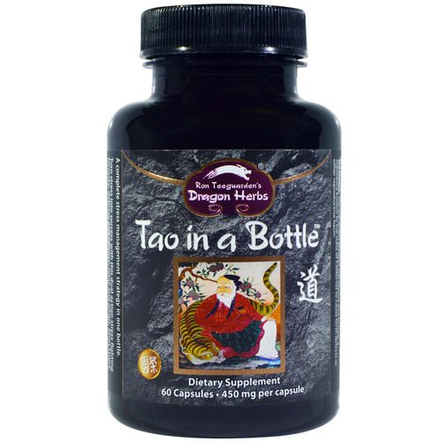 Dragon Herbs, Tao in a Bottle, 450 mg, 60 Capsules Review