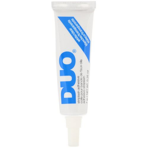 DUO, Striplash Adhesive, White/Clear, 0.25 oz (7 g) Review