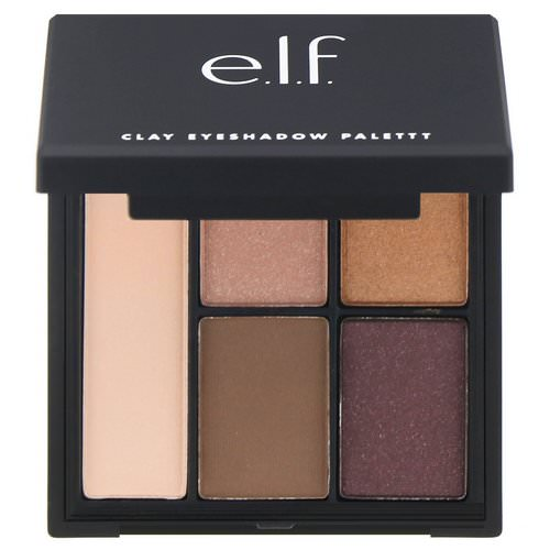 E.L.F, Clay Eyeshadow Palette, Saturday Sunsets, 0.26 oz (7.5 g ) Review