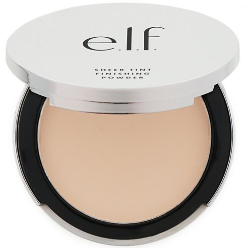 E.L.F, Beautifully Bare, Sheer Tint, Finishing Powder, Fair/Light, 0.33 oz (9.4 g) Review