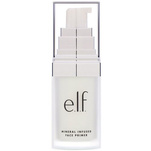 E.L.F, Mineral Infused Face Primer, Clear, 0.49 oz (14 g) Review