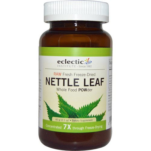 Eclectic Institute, Nettle Leaf, Whole Food POWder, 2.1 oz (60 g) Review