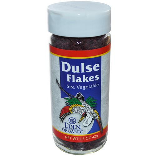 Eden Foods, Organic, Dulse Flakes, Sea Vegetable, 1.5 oz (42 g) Review