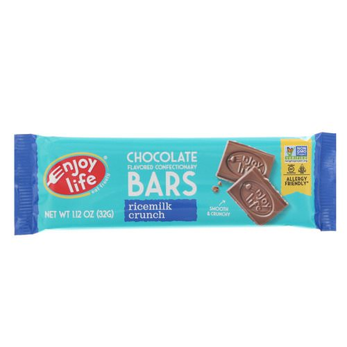 Enjoy Life Foods, Chocolate Flavored Confectionary Bars, Ricemilk Crunch, 1.12 oz (32 g) Review