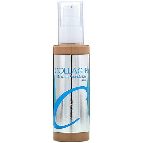 Enough, Collagen, Moisture Foundation, SPF 15, #21, 3.38 fl oz (100 ml) Review