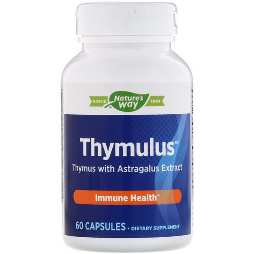 Nature's Way, Thymulus, Immune Health, 60 Capsules Review