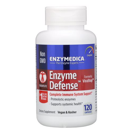 Enzymedica, Enzyme Defense (Formerly ViraStop), 120 Capsules Review