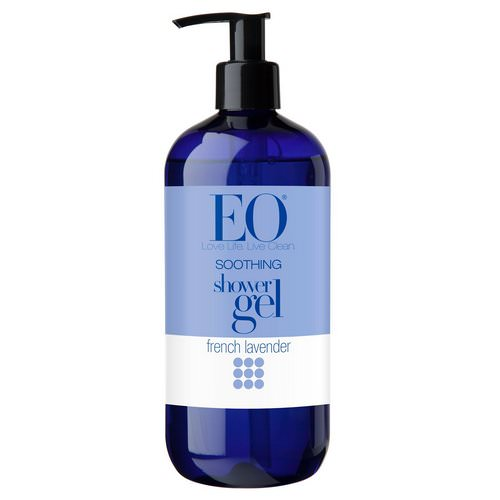 EO Products, Shower Gel, Soothing, French Lavender, 16 fl oz (473 ml) Review
