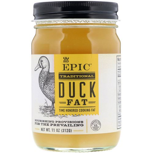Epic Bar, Traditional Duck Fat, 11 oz (312 g) Review