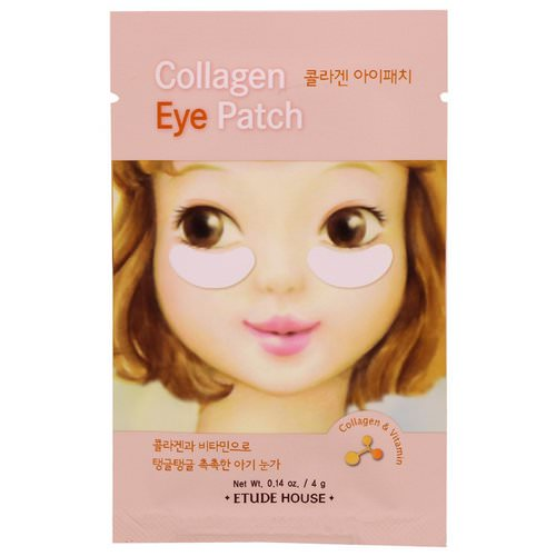 Etude House, Collagen Eye Patch, 2 Patches, 0.14 oz (4 g) Review