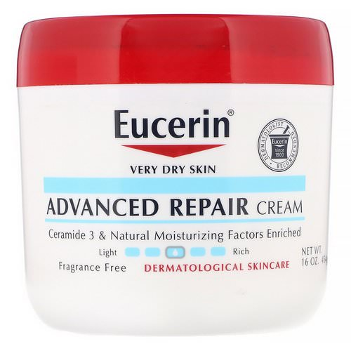 Eucerin, Advanced Repair Cream, Fragrance Free, 16 oz (454 g) Review