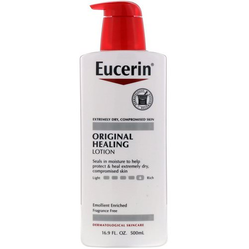 Eucerin, Original Healing Lotion, 16.9 fl oz (500 ml) Review