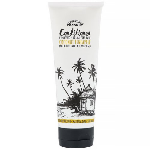 Everyday Coconut, Conditioner, Coconut Pineapple, 8 fl oz (236 ml) Review