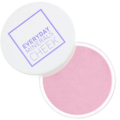 Everyday Minerals, Cheek Blush, Field of Roses, .17 oz (4.8 g) Review