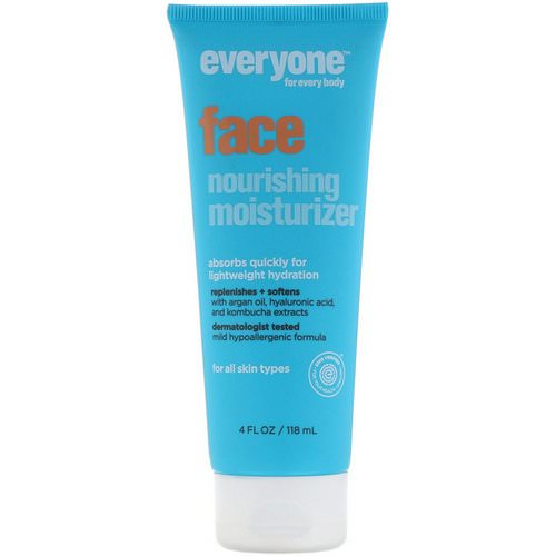 Everyone, Face, Nourishing Moisturizer, 4 fl oz (118 ml) Review