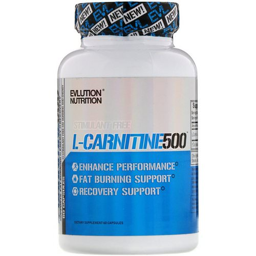 EVLution Nutrition, L-Carnitine500, 60 Capsules Review