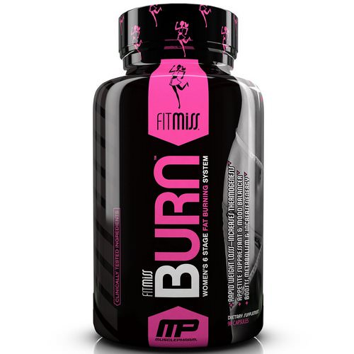 FitMiss, Burn, Women's 6 Stage Fat Burning System, 90 Capsules Review