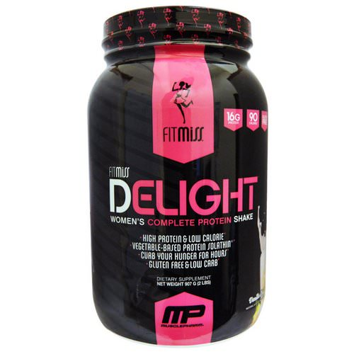 FitMiss, Delight, Women's Complete Protein Shake, Vanilla Chai, 2 lbs (907 g) Review