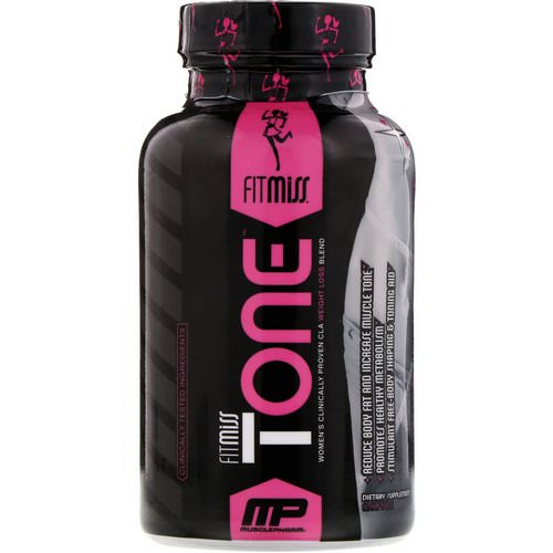 FitMiss, Tone, Women's Clinically Proven CLA Weight Loss Blend, 60 Softgels Review
