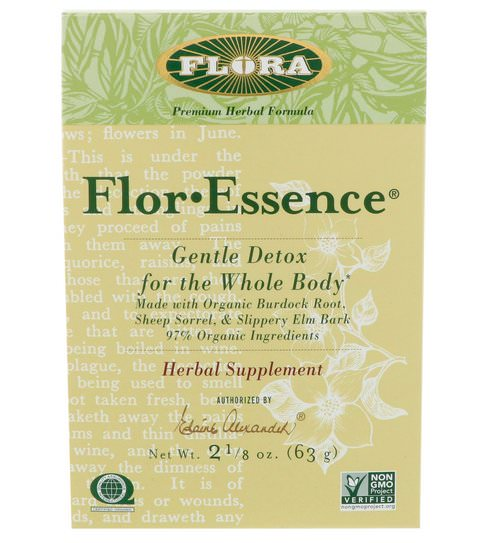 Flora, Flor·Essence, Gentle Detox for the Whole Body, 2 1/8 oz (63 g) Review