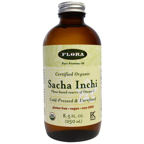 Flora, Organic Sacha Inchi, Pure Premium Oil, 8.5 fl oz (250 ml) Review