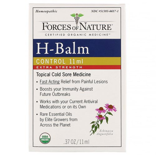 Forces of Nature, H-Balm Control, Extra Strength, 0.37 oz (11 ml) Review