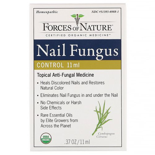 Forces of Nature, Nail Fungus Control, 0.37 oz (11 ml) Review