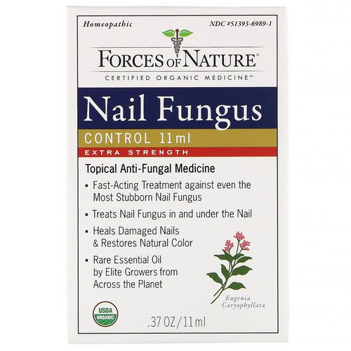 Forces of Nature, Nail Fungus Control, Extra Strength, 0.37 (11 ml) Review