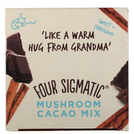 Cacao, Chocolate Para Beber Four Sigmatic Drinking Chocolate Cocoa