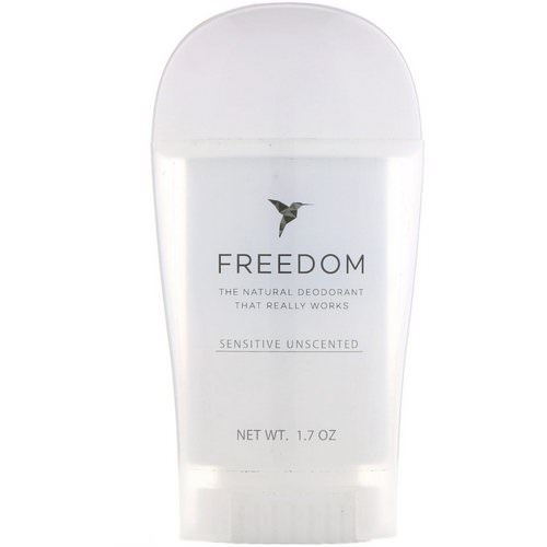 Freedom, Deodorant, Sensitive Unscented, 1.7 oz Review