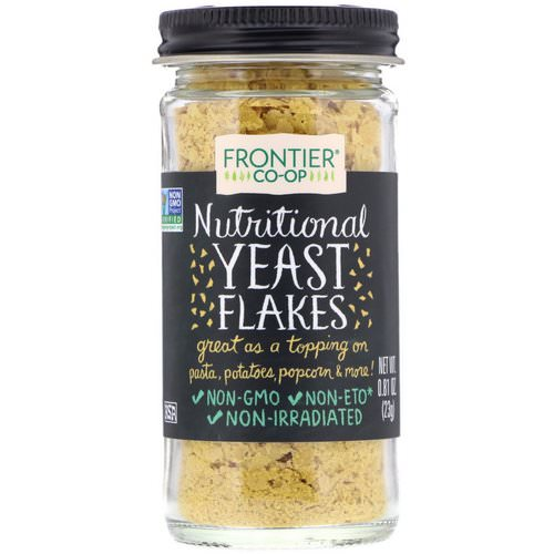 Frontier Natural Products, Nutritional Yeast Flakes, 0.81 oz (23 g) Review