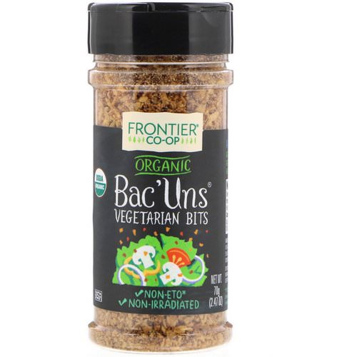 Frontier Natural Products, Organic Bac'Uns, Vegetarian Bits, 2.47 oz (70 g) Review
