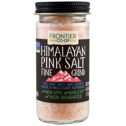 Frontier Natural Products, Himalayan Pink Salt, Fine Grind, 4.48 oz (127 g) Review