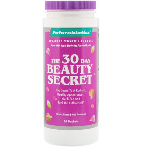 FutureBiotics, The 30 Day Beauty Secret, 30 Packets Review