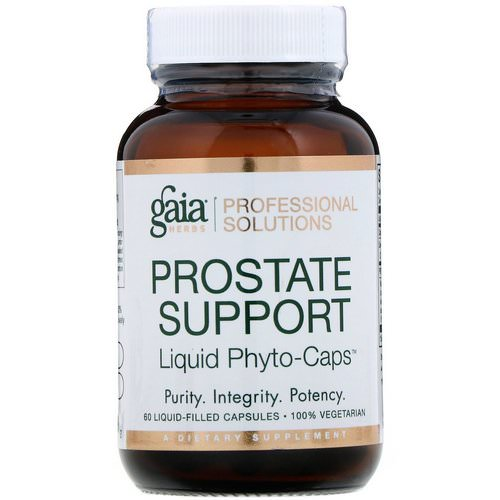 Gaia Herbs Professional Solutions, Prostate Support, 60 Liquid-Filled Capsules Review