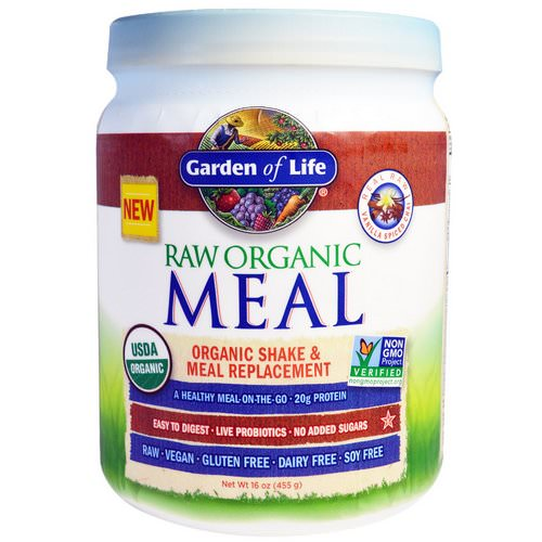 Garden of Life, RAW Organic Meal, Shake & Meal Replacement, Vanilla Spiced Chai, 16 oz (455 g) Review