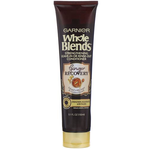 Garnier, Whole Blends, Strengthening Leave-In or Rinse-Out Conditioner, Ginger Recovery, 5.1 fl (150 ml) Review