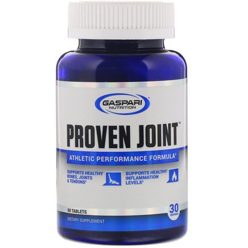 Gaspari Nutrition, Proven Joint, Athletic Performance Formula, 90 Tablets Review